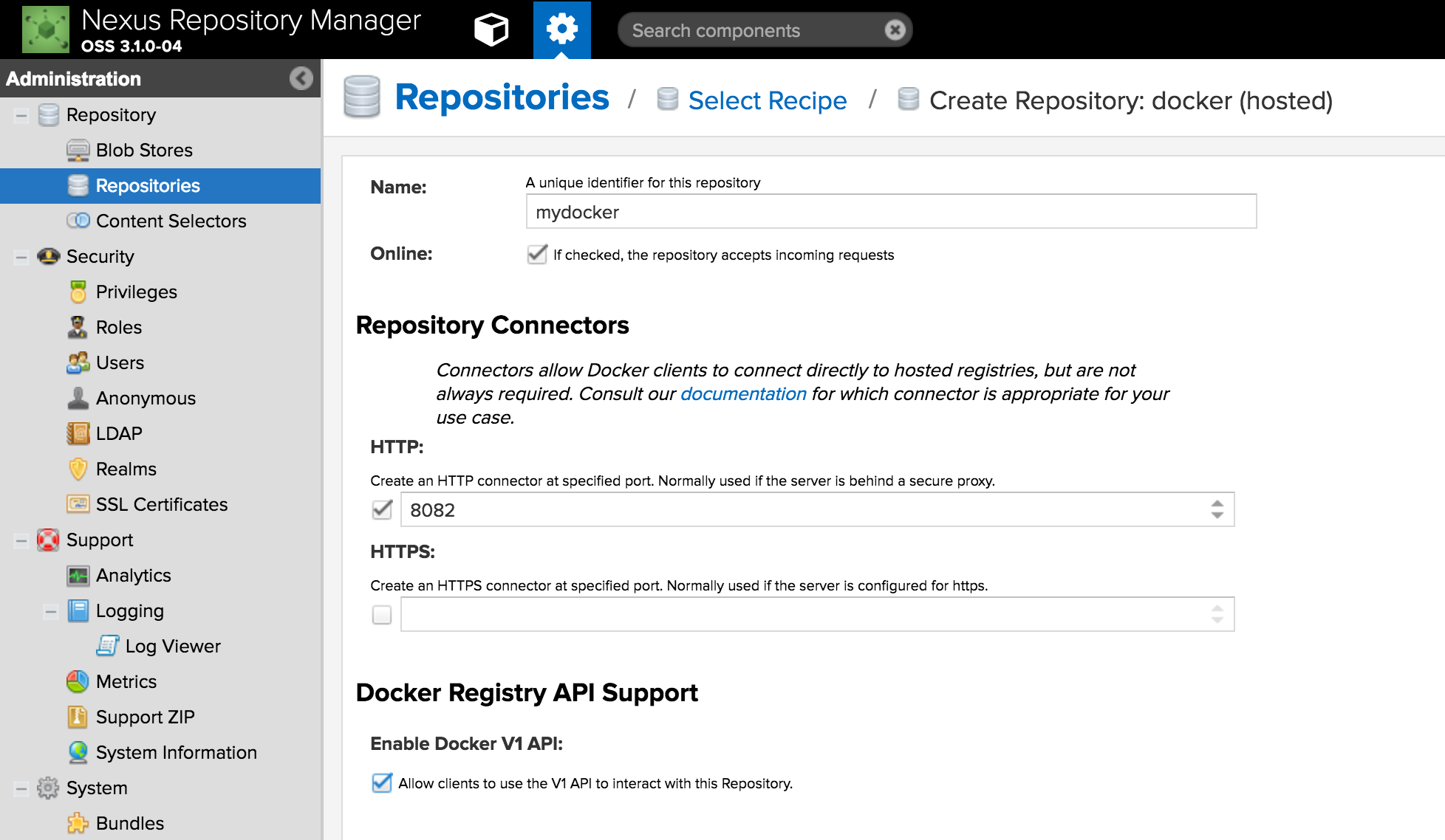 Docker registry to ship and manage your containers